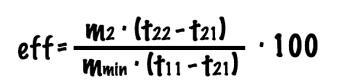 有效性的方程式